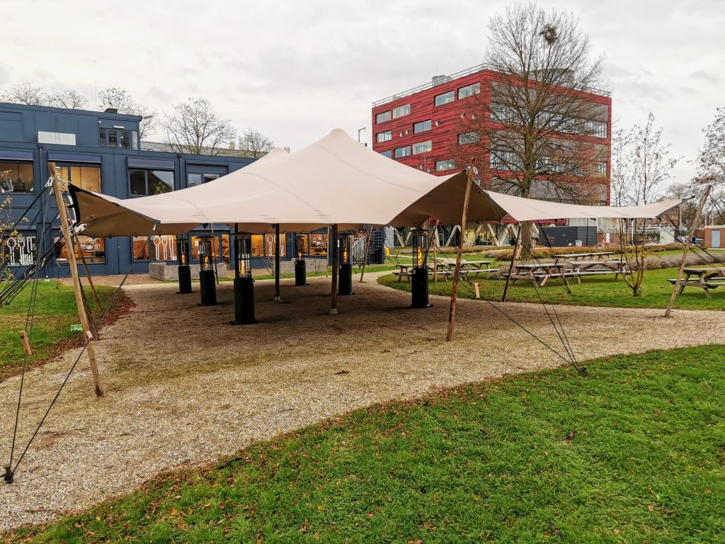 10 x 16 m Taupe